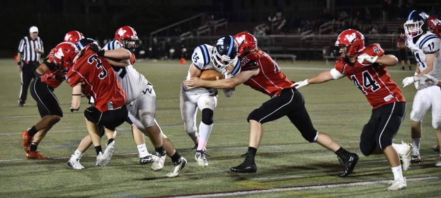 Wilmington proves to be armful for Watertown High football team